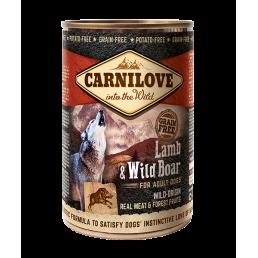 Carnilove Agnello e Cinghiale Carne per Cani Adulti