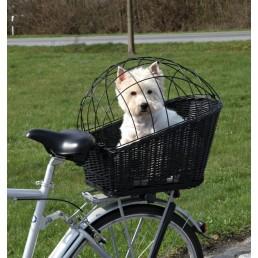 Cesto per bicicletta per cani e gatti
