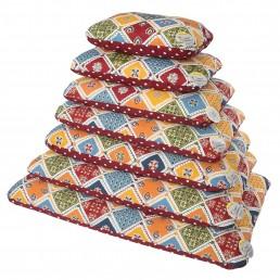 Mosaico Cuscino Imbottito con Cerniera