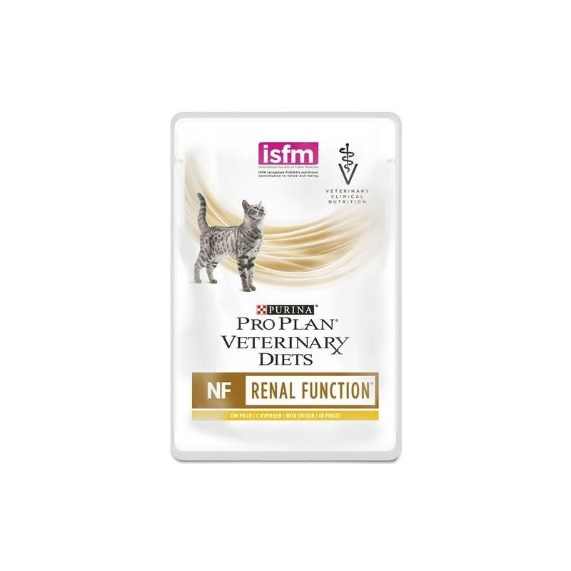 Pro Plan Veterinary Diets NF Renal Bustine Umido per Gatti