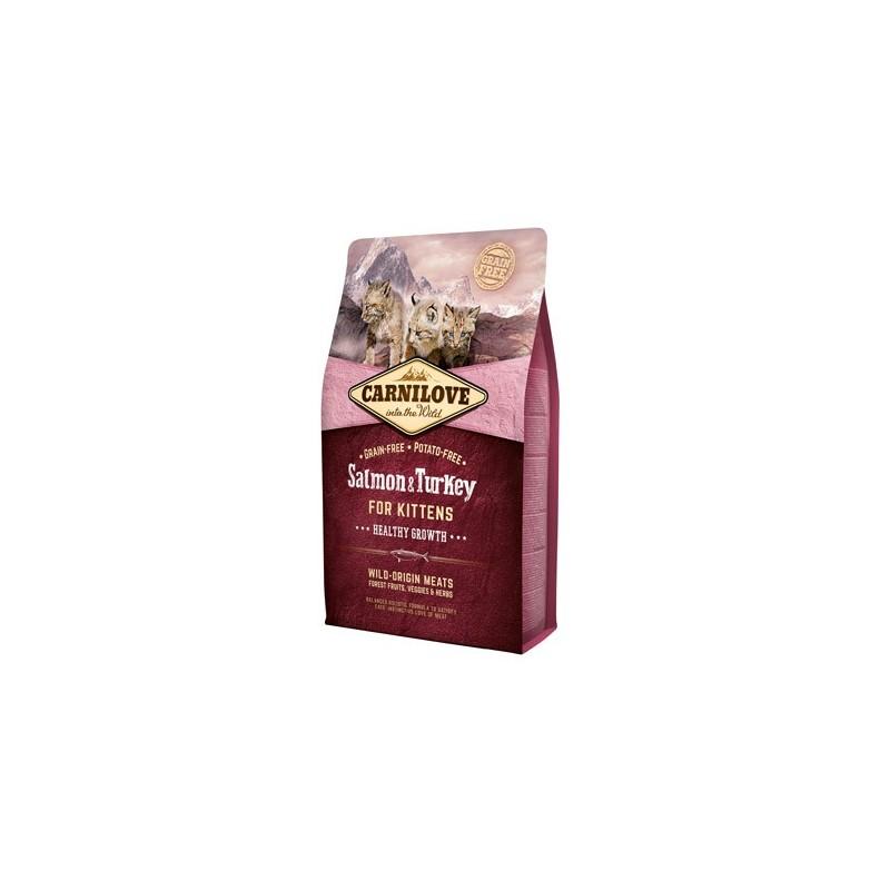 Carnilove Salmone e Tacchino per Gattini