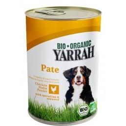 Yarrah Pate' di Pollo con Spirulina e Alghe per Cani