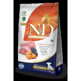 Farmina N&D Pumpkin Grain-Free Puppy Mini Agnello e Mirtillo per Cani