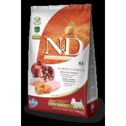 Farmina N&D Pumpkin Grain-Free Adult Mini Pollo e Melograno per Cani