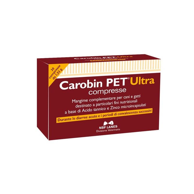 Nbf Carobin Pet Ultra per Cani e per Gatti compresse appetibili