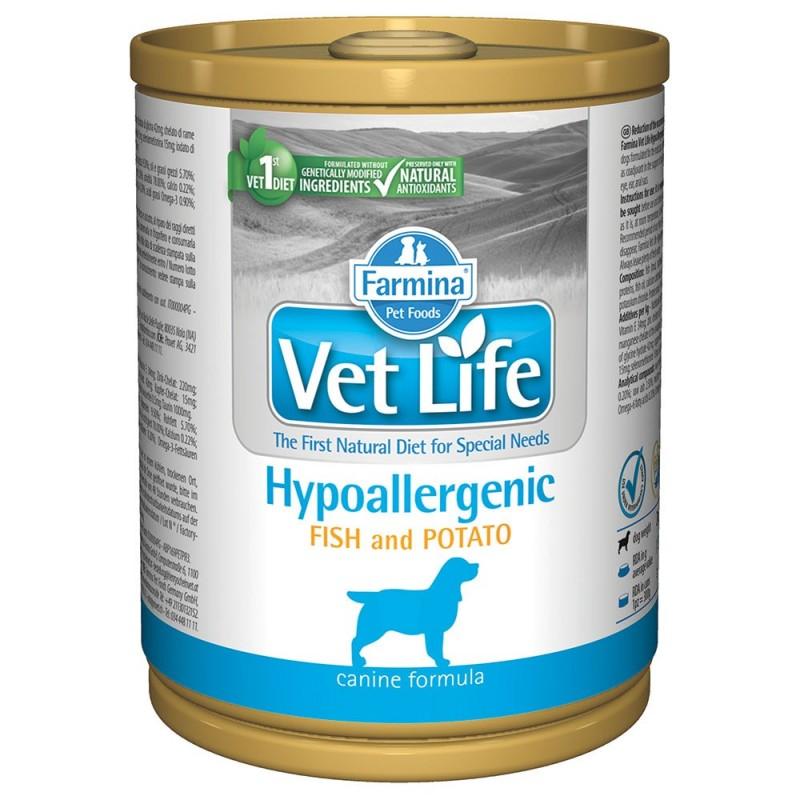 Farmina Vet Life Hypoallergenic Cibo Umido per Cani