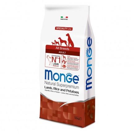 Monge Speciality All Breeds Agnello con Riso e Patate