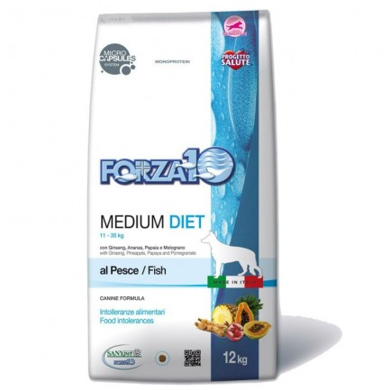 Forza10 Medium Diet al Pesce Cane