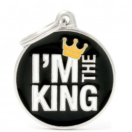 Medaglietta I'm The King