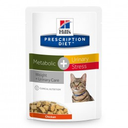Hills Prescription Diet  Metabolic + Urinary Stress Cibo Umido per Gatti