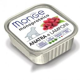 Monge Pate' Monoproteico con Frutta per Cani