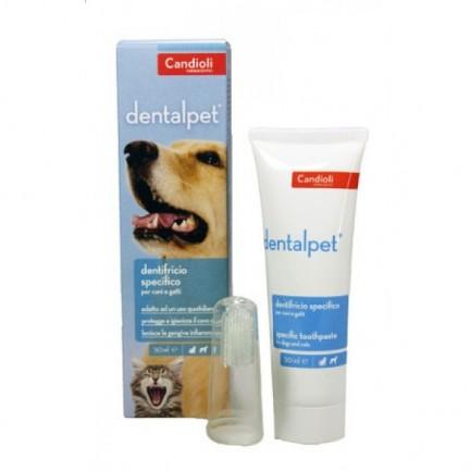 Dentalpet Pasta Dentifricio per Cani e Gatti