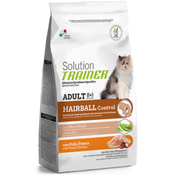 Trainer Solution Hairball Controll con Pollo per Gatti