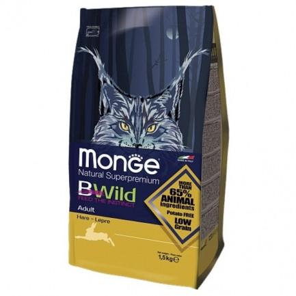Monge BWild Adult con Lepre per Gatti