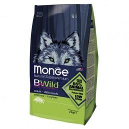 Monge BWild Adult al Cinghiale per Cani