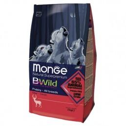 Monge BWild Puppy e Junior al Cervo per Cani