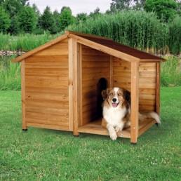 Cuccia in legno da esterno