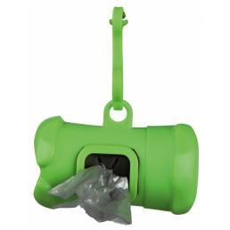 Distributore di sacchetti igienici, in plastica
