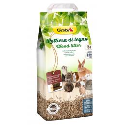 Lettiera di Legno per Conigli e Roditori