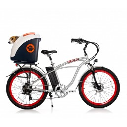 Pow Trasportino Rigido per Moto Scooter Bici e Auto
