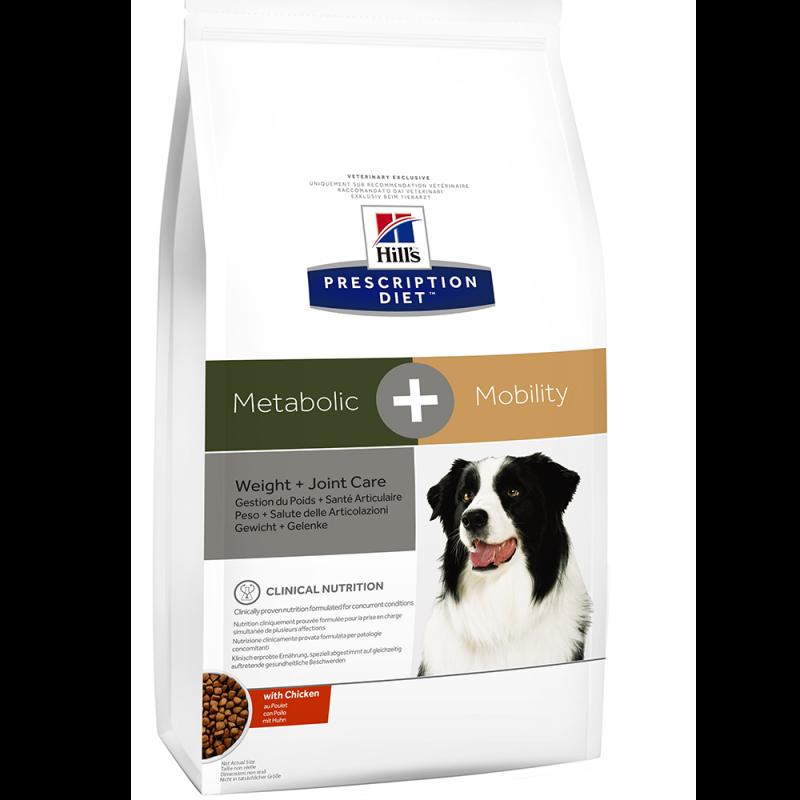 Hills Prescription Diet Metabolic + Mobility per Cani
