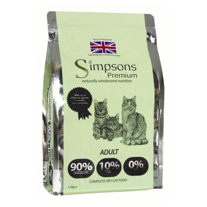 Simpson Adult Mix con Pollo Pesce e Tacchino per Gatti