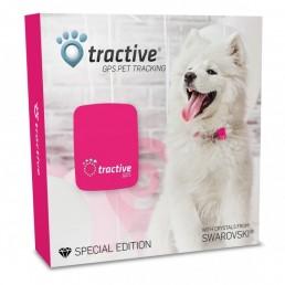 Tractive Localizzatore GPS per Animali Swarovski®