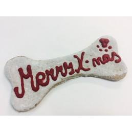 Biscotto Natalizio per Cani Osso Merry Christmas