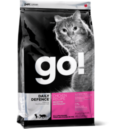 PetCurean GO! Daily Defence con Pollo per Gatti