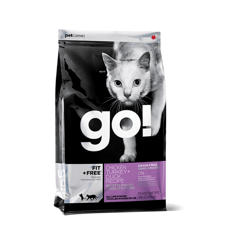 PetCurean GO! Fit+ Free Activity & Kitten GRAIN FREE per Gatti