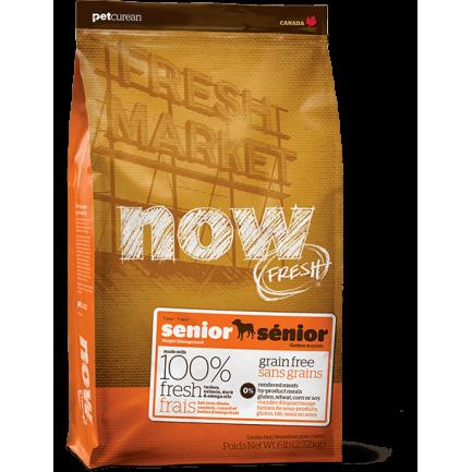 PetCurean Now Fresh Senior Grain Free per Cani