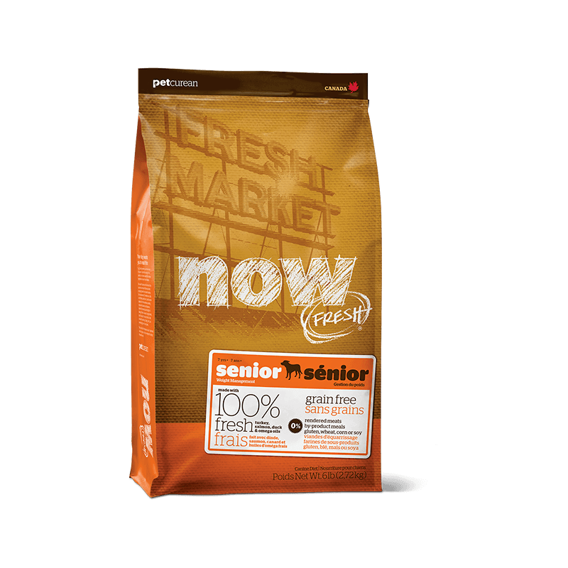 PetCurean Now Fresh Senior Grain Free per Cani