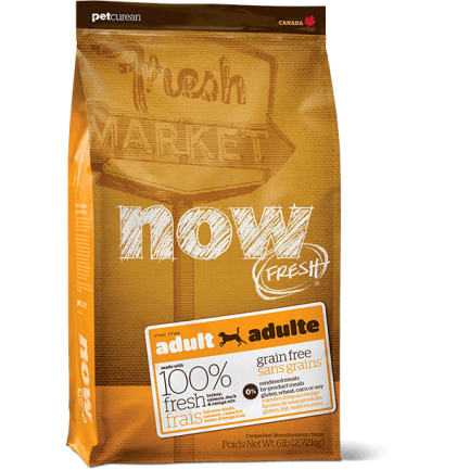 PetCurean Now Fresh Adult Grain Free per Cani