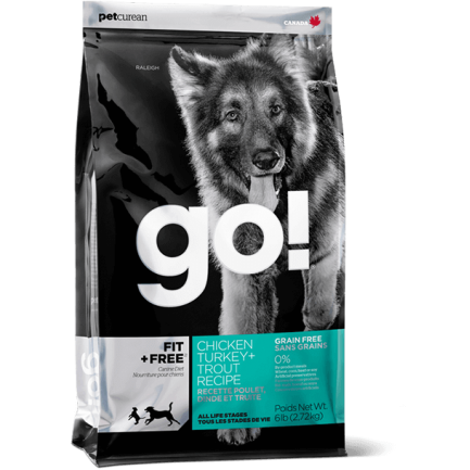 PetCurean GO! Fit+Free Activity & Puppy GRAIN FREE per Cani