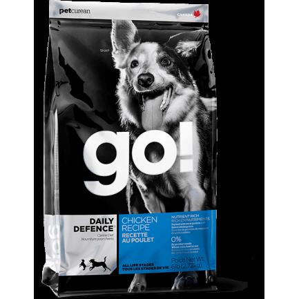 PetCurean GO! Daily Defence con Pollo per Cani