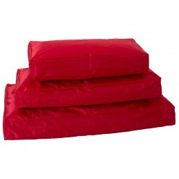Chilli Dog Cuscino per Cani Rosso