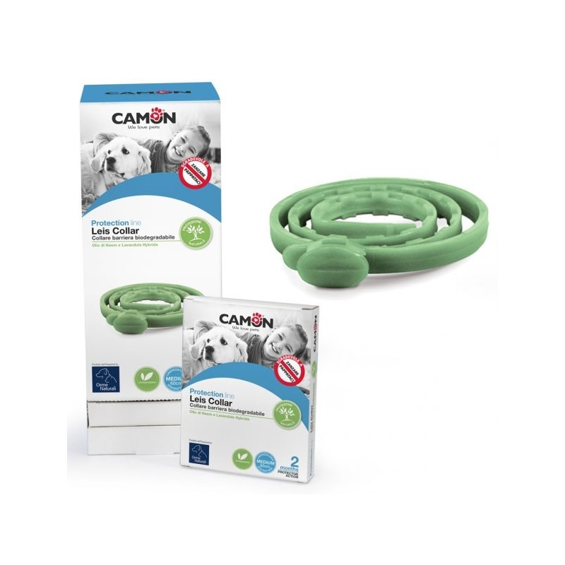 Camon Leiscollar Collare Biodegradabile Antiparassitario