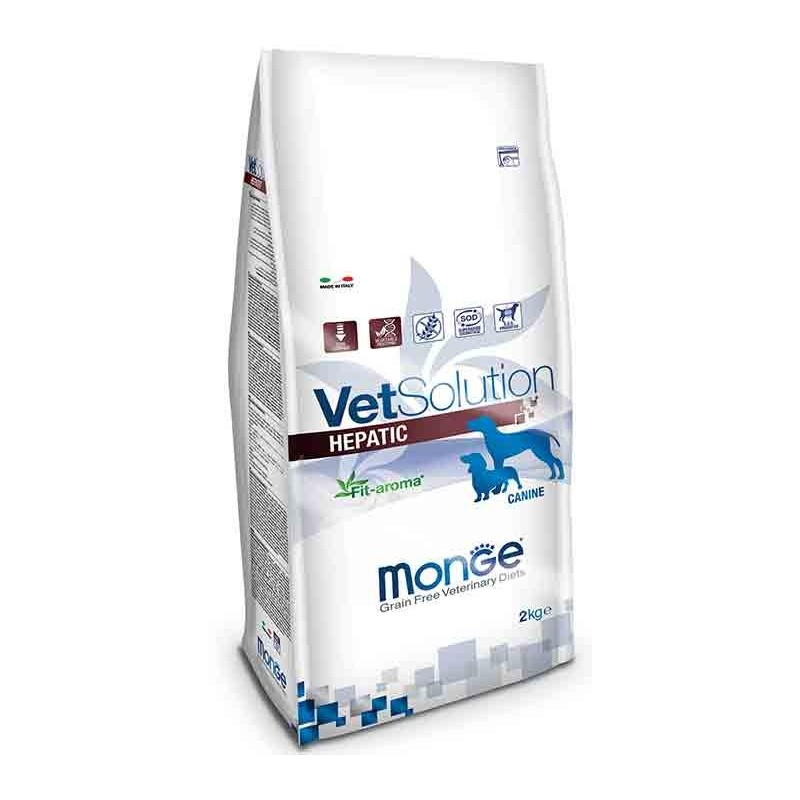 Monge VetSolution Hepatic per Cani