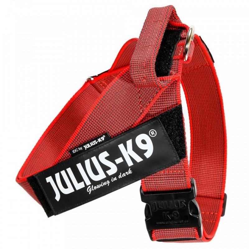 Julius k9 IDC Belth Harness Pettorina per Cani ROSSO