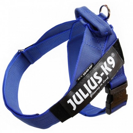 Julius k9 IDC Belth Harness Pettorina per Cani BLU