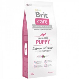 Brit Care Grain-free Puppy Salmone e Patate per Cani