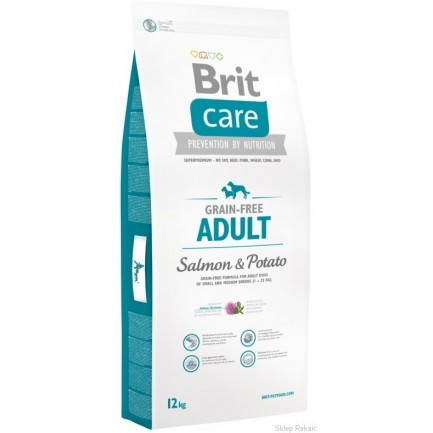 Brit Care Grain-free Adult Salmone e Patate per Cani