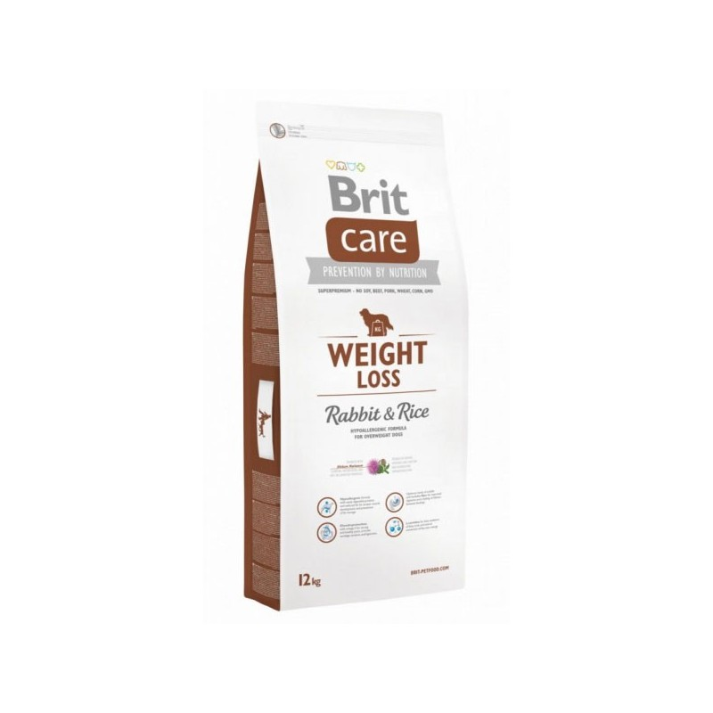 Brit Care Weight Loss Coniglio e Riso per Cani