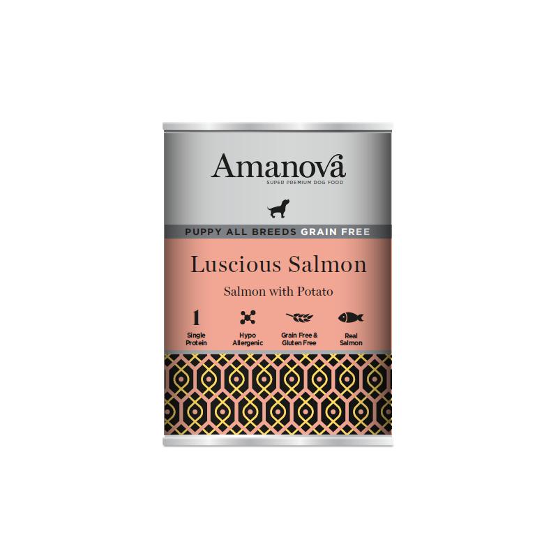 Amanova Puppy Salmone e Patate per Cuccioli