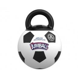 Jumball Palla Calcio con Maniglie Gioco per Cani