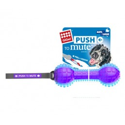 Dumbell Push To Mute Gioco per Cani