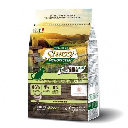 Stuzzy Monoprotein Grain Free Sterilized con Pollo per Gatti