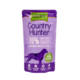 Natures Menu Country Hunter con Tacchino Cibo Umido per Cani
