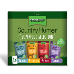 Natures Menu Country Hunter Multipack Cibo Umido per Cani