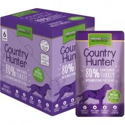 Natures Menu Country Hunter con Tacchino Cibo Umido per Cani